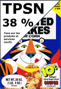 Produit contenant 38% de sucre avec TPSN de 38 %