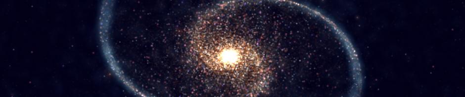 Image du Big Bang selon nouvelle théorie